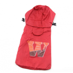 Červená pláštěnka pro psa Wild