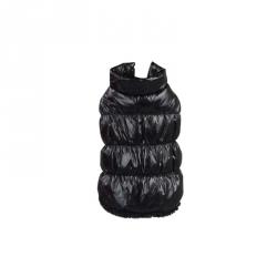 Prošívaná zimní bunda pro psa vel. M - černá