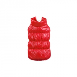 Prošívaná zimní bunda pro psa vel. M- červená