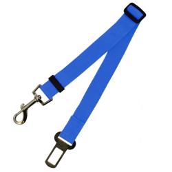 Bezpečnostní pás pro psa - modrý