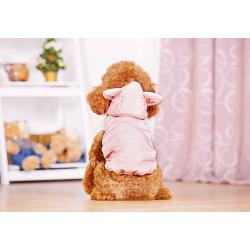 Zimní bunda pro malého psa RŮŽOVÁ - vel. M