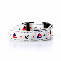 Svítící obojek pro psa Sailor - barevný