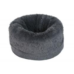 Luxusní pelech a tulipytlík pro psa ŇuŇu 2v1 - šedý 60 cm