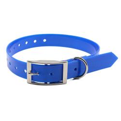 Modrý silikonový obojek pro psa Tropical Jelly
