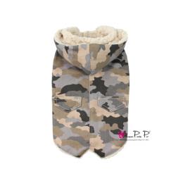 Luxusní zimní vesta pro psa Pretty Pet ARMY - vel. M