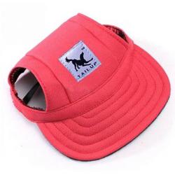 Letní čepice pro psa, kšiltovka pro psa - červená