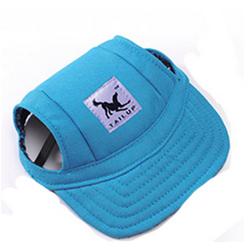 Letní čepice pro psa, kšiltovka pro psa - modrá