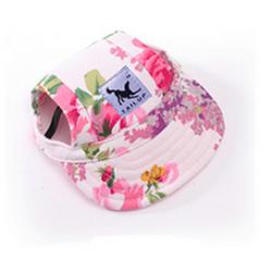 Letní čepice pro psa, kšiltovka pro psa - květy