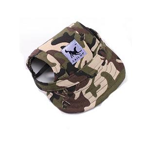 Letní čepice pro psa, kšiltovka pro psa - maskáčová