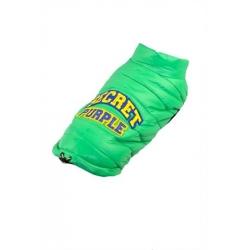 Zelená zimní bunda pro psa, vesta pro psa Dobaz