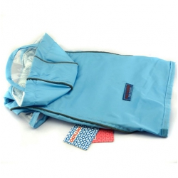 Modrý outdoorový kabátek pro psa