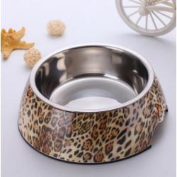 Luxusní miska pro psa - leopardí vzor
