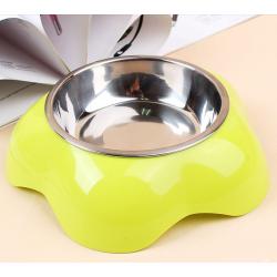Luxusní miska pro psa - zelena
