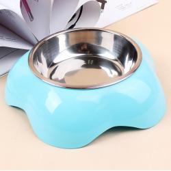 Luxusní miska pro psa - modra