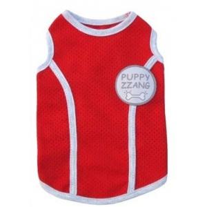 Červený nátělník pro psa Puppy Zzang