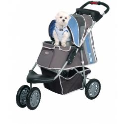 Kočárek pro psa Inno Pet First class - modrý