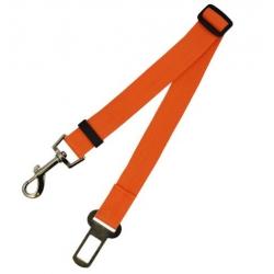 Bezpečnostní pás pro psa - oranžový