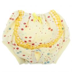 žluté hárací kalhotky s kytičkami vel. S