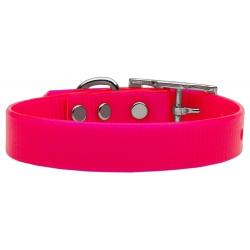 Růžový silikonový obojek pro psa Tropical Jelly S/M